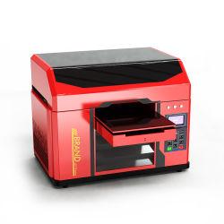 Nieuwe producten op de Chinese markt kleine afmetingen A3 DIY UV LED Flatbed Desktop printer met goedkoopste prijs