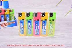 Electrónica descartáveis de plástico barato gás butano isqueiro para Cigaretter