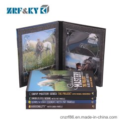 CD DVD van de Schijf van de Sport van de Druk van de douane de Verdubbeling Digipack van de Replicatie van de Verpakking