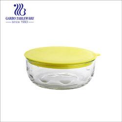 Ciotole termoresistenti sicure dell'alimento della ciotola di frutta dell'insalata delle ciotole di vetro di a microonde con il coperchio di plastica (GB1362138)