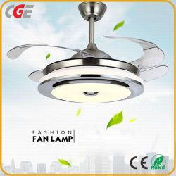 Il ventilatore moderno dell'interno LED dell'indicatore luminoso del ventilatore di soffitto di telecomando di CC del ventilatore elettrico illumina il USB del ventilatore, indicatore luminoso del lampadario a bracci del ventilatore di soffitto di uso della famiglia del ventilatore di soffitto di uso di estate