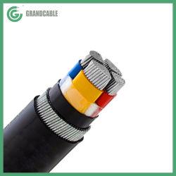Câble d'alimentation électrique de blindés de l'aluminium Al/XLPE/0.6/1SWA/PVC kV IEC 60502-1