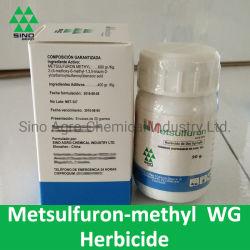 除草剤の殺虫剤のMetsulfuronメチルの60% Wg/Wdg