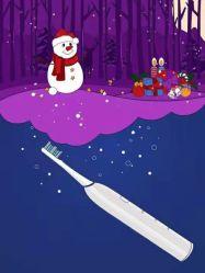 de Gift van Kerstmis voor van het Jonge geitje van het Stuk speelgoed en van het Nieuwjaar van de Meisjes van de Gift de Creatieve van de Manier van de Gift Sonische Slimme R Elektrische Tandenborstel Js307 van de Bevordering