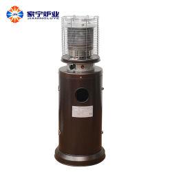 Fabrikant in China propaanbrandstof Bruine poedercoating ijzer bevochtiging Patio heater Gas (grotere ovenkop)
