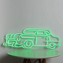 Open Flexibele Brief voor het In het groot Waterdichte LEIDENE van de Kabel van Lichten Teken van het Neon