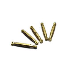 L'asta cilindrica d'ottone di precisione lavorata CNC parte i mini perni d'ottone