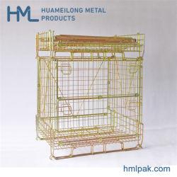 Huameilong продажи с возможностью горячей замены жестких съемных подвижных Q235 провод сетчатой корзины