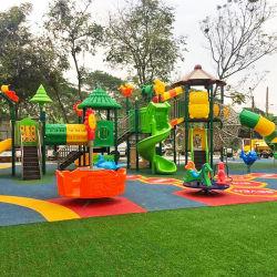 As crianças da Série New Forest parque ao ar livre do parque de diversões de Design Personalizado Anti-Fade Brinquedos Subir Structre Jungle Parque infantil