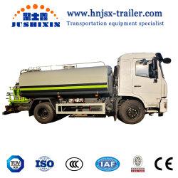 Dongfeng 상표 도로 물뿌리개 위생 차량 물 탱크 트럭