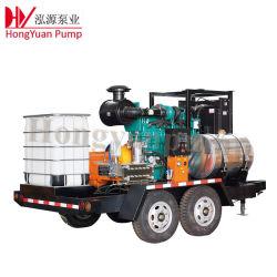 Chorro de agua industriales lavadora de alta presión para limpieza de tuberías