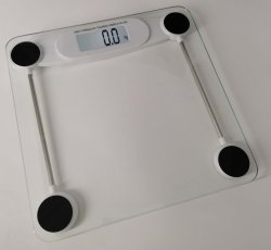ガラスをカスタマイズ印刷するバスルームのスケールをカスタマイズします