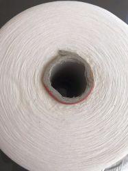 100%は編み、編むことのための綿のポリエステルによって混ぜられたヤーンをリサイクルした