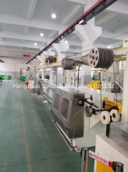 خط إنتاج عزل كابلات أسلاك البناء عالية السرعة