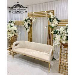 Sawa Gold/Chamepagne Gold/Silver couleur de fond en acier inoxydable de décoration pour partie/mariage/événement dans l'extérieur/extérieur/intérieur ou d'Insite