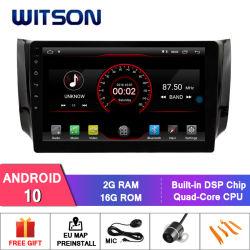 """Witson gran pantalla de 10,2"""" de Android 10 Alquiler de DVD para Nissan Sylphy 2012-2016 (apto para el coche con la cámara)"""