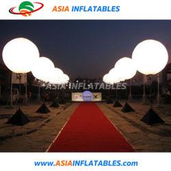 조명 웨딩 이벤트 로드 사이드 장식 팽창식 삼각대 스탠드 LED 조명 벌룬