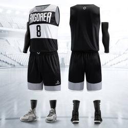 スポーツウェアメンズポリエステル製の Breadthable Bskutball Jersey