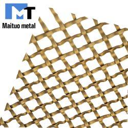 Архитектурные декоративные экраны сетка из нержавеющей стали и алюминия и меди