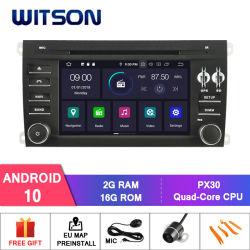 Android Witson 10 Rádio GPS para Porsche Cayenne vídeo HD de 1080P
