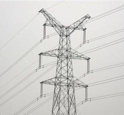전기 장비 공급업체 전기 격자 강철 폴리스를 제공합니다
