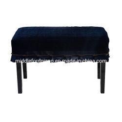 اللون الأزرق ملكيّة لون مخمل بيانو مقادة غبار تغطية