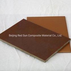 Scheda fenolica del tessuto di cotone dell'isolamento 3025 di buona qualità