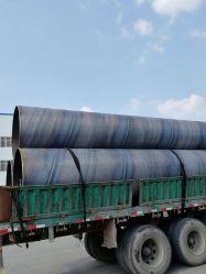 ASTM A252 pile di tubi in lamiera di acciaio laminata a caldo saldate a spirale ERW LSAW SSAW tubo in acciaio pile