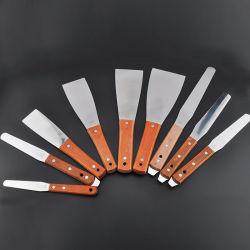Spatole dell'inchiostro dell'acciaio inossidabile del metallo e lama dell'inchiostro/spatole di plastica dell'inchiostro per industria di stampa dello schermo