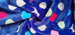 De textiel Druk van het Flanel van het Koraal