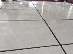 중국 공장 1.6mm 두께 광택 베이지 버두르 베이지색 대리석 바닥 타일