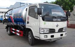 4*2 5000L Dongfeng pétrolier d'aspiration des eaux usées à haute pression