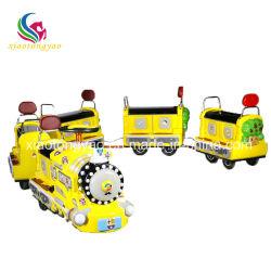 Treno non cingolato del mini Kiddie turistico elettrico del treno dei capretti della strumentazione dei bambini di giro del parco di divertimenti
