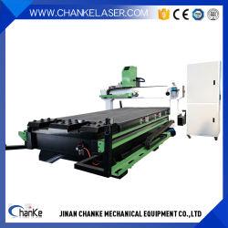 1300X2500mmドアのアクリルの金属のエヴァの泡のための木製の働くCNCの彫版機械