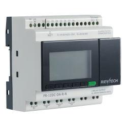 Mqtt Ethernet compatible con el protocolo de la Industria 4.0 Iiot controlador programable PLC Control de Relay (Relé programable PR-12DC-DA-R-N)