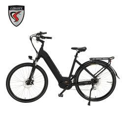 도시 쉬운 라이더 전기 자전거 E 자전거 스쿠터 기관자전차 중앙 몬 모터 350W 8fun