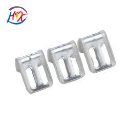 Фошань вспомогательное оборудование высокого качества на заводе металлической части пружинный фиксатор замка ремня безопасности с половиной пластика