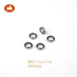 3x6x2 mm Mr63 L630 617/3 673 3m06 Ouvrir le roulement à billes miniatures pour le matériel de bureau micro-moteur du ventilateur du laser Instrument Modèle de jouets petite horloge Perceuse dentaire
