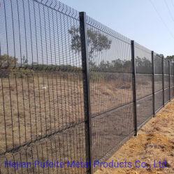 Preto, Verde Revestimento a pó High Security 358 mesh Anti Subir Clear Vu Visualizar cerca.