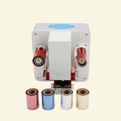 Machine d'estampage à chaud 55y ruban aluminium pour l'imprimante
