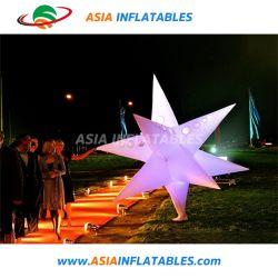 Потрясающее оформление горячей надувные LED Star