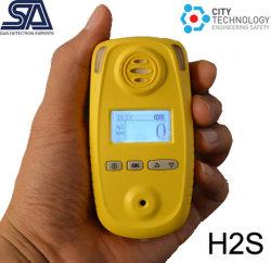 Um único detector de gás portáteis pessoais para o H2s, Co, O2, NH3, CO2, nº2, Tvoc Monitor de gás
