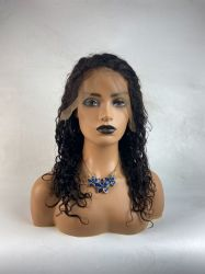 Человеческого волоса 4X4 Закрытие Gold-русые кружева передней бразильского прямой Боб оранжевый короткий косплей Wig для женщин