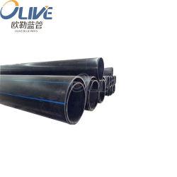 Tubo dell'HDPE di rendimento elevato di immagazzinamento alla rinfusa per i progetti di costruzione
