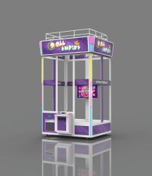 L'Empire de poupée/don/prix/distributeurs de jouets en peluche/grand amusement de la machine/Arcade/griffe de grue/grande grue Machine de jeu de la machine