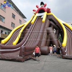 Верхняя надувные Juegos Inflables Tobogan воды большого размера для взрослых слайдов EN14960 Китая производителя