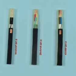 Isolation PVC multiconducteur en cuivre pour la connexion du câble de commande d'équipements électriques