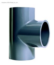"""의 경우 Pn16 압력 크기 12""""와 함께 UPVC 플라스틱이 동일한 티 공업용 물 처리 피팅"""