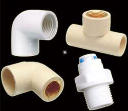 Tubo adaptador de HDPE LDPE Tuberías de Plástico PP los racores de compresión 90 Codo para el suministro de agua