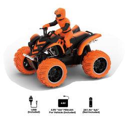 Meilleure vente de jouets de commande à distance de l'alimentation électrique de grosses roues moto voiture RC pour les enfants